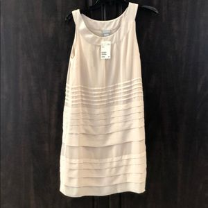 Pale pink layered and lined HM dress